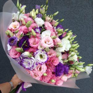 Букет из 25 эустом — Букеты цветов