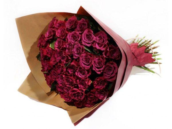 Букет из 21 премиальной розы