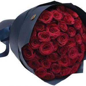 Букет из 51 розы 70 см — Букеты цветов