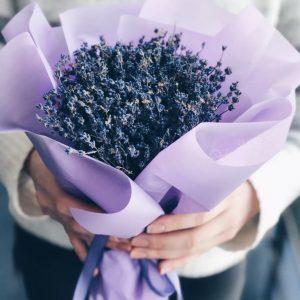 Букет лаванды — Букеты цветов
