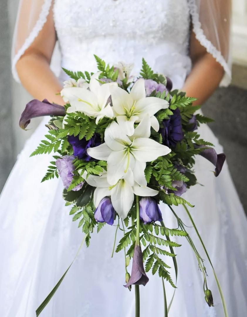 Лилии букет невесты, доставка
