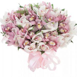 Букет из 39 орхидей