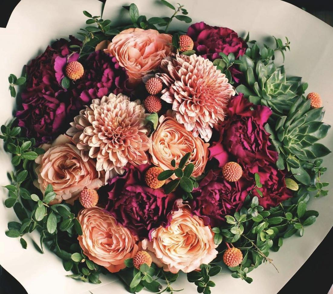 Срезанные, как сделать букет из роз и астр
