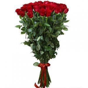 Букет из 51 розы 200 см (2 метра)