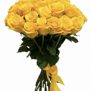 Букет из 35 желтых роз — Букеты цветов