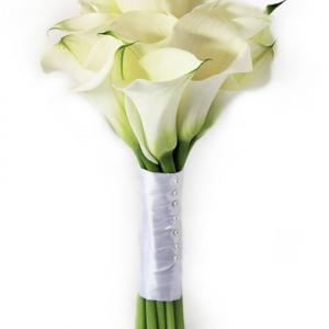 Букет невесты из 11 калл — Свадебные букеты