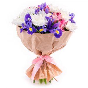 Букет «Любящее сердце» — Букеты цветов