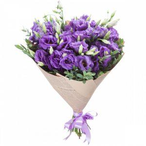 Букет из эустом «Фестиваль» — Букеты цветов