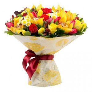 Букет «Мелодия цветов» — Букеты цветов