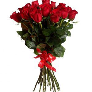 Букет из 25 красных роз — Букеты цветов