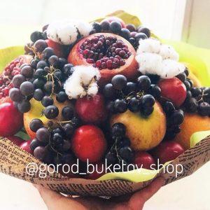 Фруктово-ягодный букет «Аль Капоне» — Букеты из фруктов