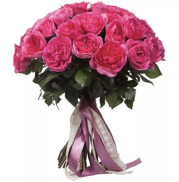 """Букет из пионовидных роз """"Баронесса"""""""