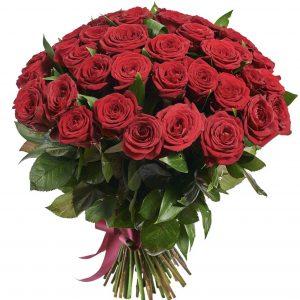 Букет из 51 красной розы — Букеты цветов