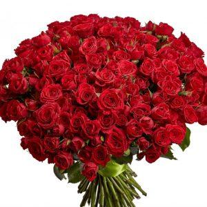 Букет из 201 красной розы — Букеты цветов