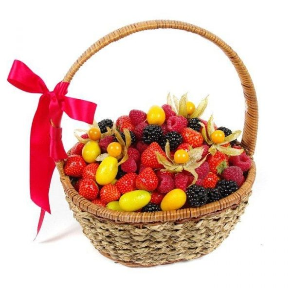 Корзина с ягодами №1