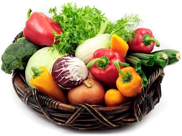 Корзина с овощами №2