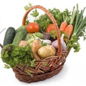 Корзина с овощами №3 — Корзины из овощей