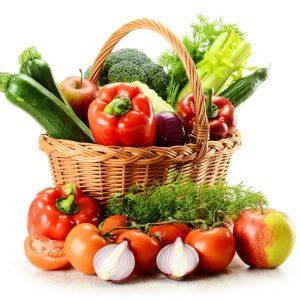 Корзина с овощами №4
