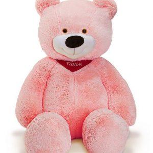 Мишка розовый 130 см