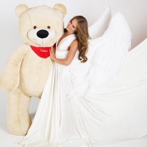 Мишка латте 200 см — Плюшевые медведи
