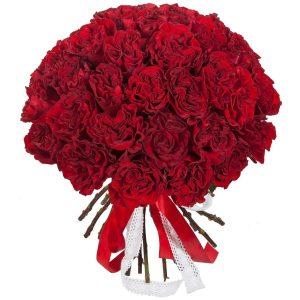 Букет пионовидных роз «Wanted» — Букеты цветов