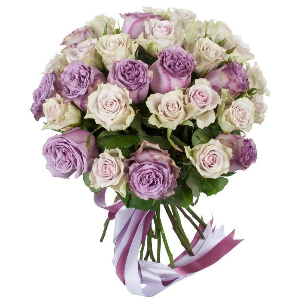 """Букет """"Лунный день"""" из пионовидных роз"""