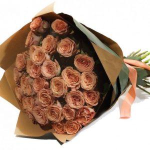 Букет роз Каппучино