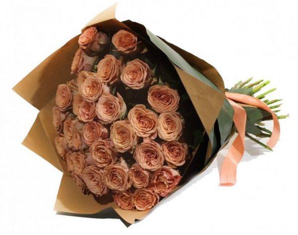 Букет роз «Капучино» — Букеты цветов