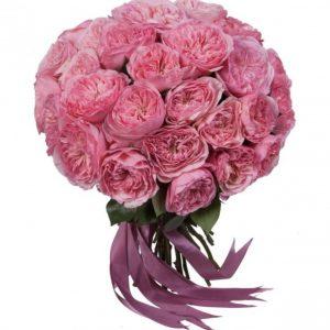 "Букет пионовидных роз ""Maria Theresia"""