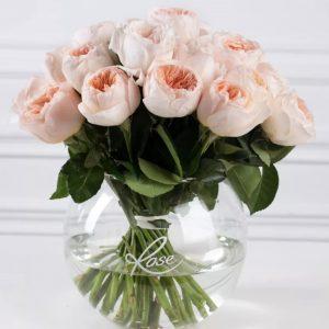 Букет из пионовидных роз «Piano» — Букеты цветов