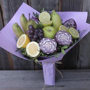 Фруктово-овощной букет «Монпелье» — Букеты из фруктов