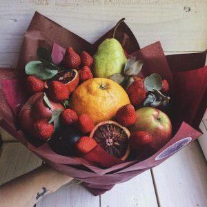 Фруктовый букет с апельсинами