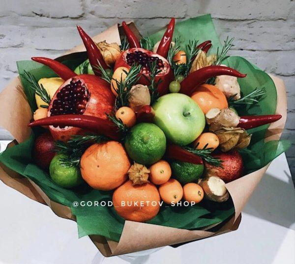Букет витаминный заряд — Букеты из фруктов