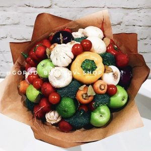 Летний овощной букет
