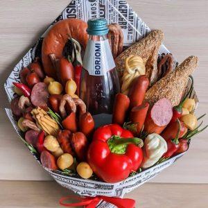 Букет из овощей и сыра «Гастроном» — Акции и скидки