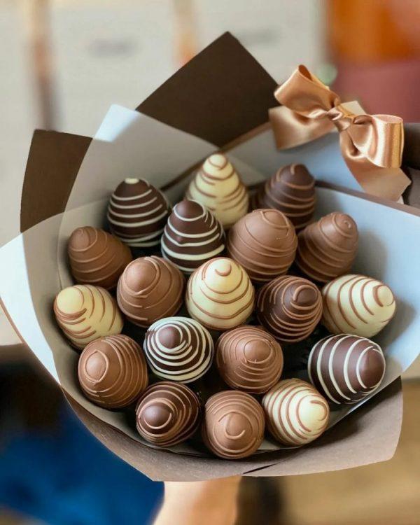 Клубника в шоколаде «Лера» — Детские букеты