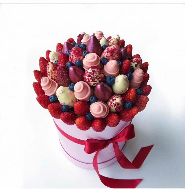 Клубника в шоколаде «Моника» — Детские букеты