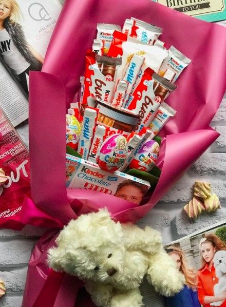 Новогодний букет «Для принцессы» — Букеты из сладостей