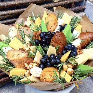 Сырный букет «Версаль» — Мужские букеты