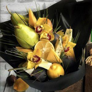 Сырный букет «Перье» — Букеты из фруктов