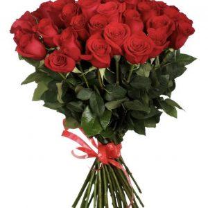 Букет 35 роз (70см.) — Букеты цветов