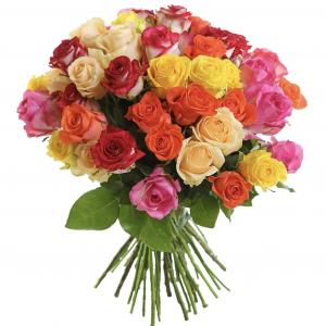 Букет из ярких роз — Акции и скидки
