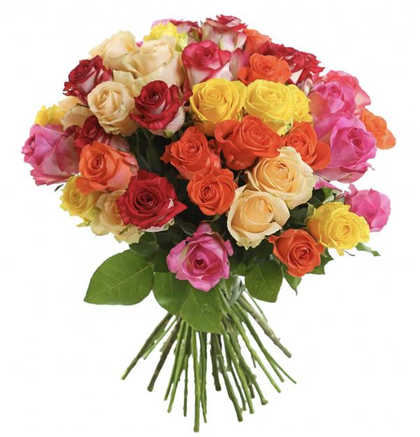Букет из ярких роз
