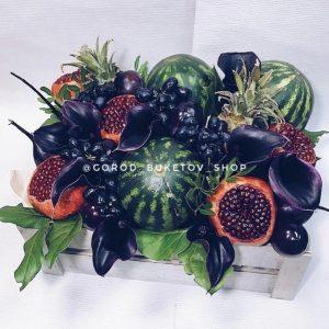 «Дракула» Фруктовая композиция — Букеты из фруктов