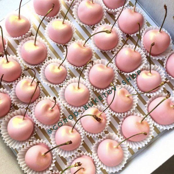 Набор черешни в шоколаде 36 шт — Кондитерские изделия