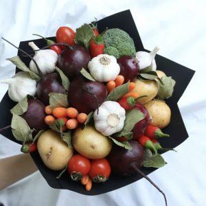 Овощной букет «Борщ» — Акции и скидки
