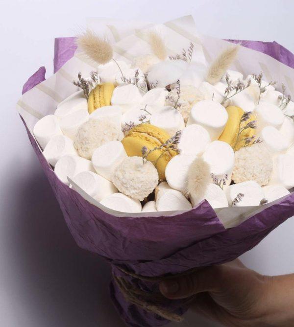 Сладкий букет «Сливки» — Букеты из сладостей