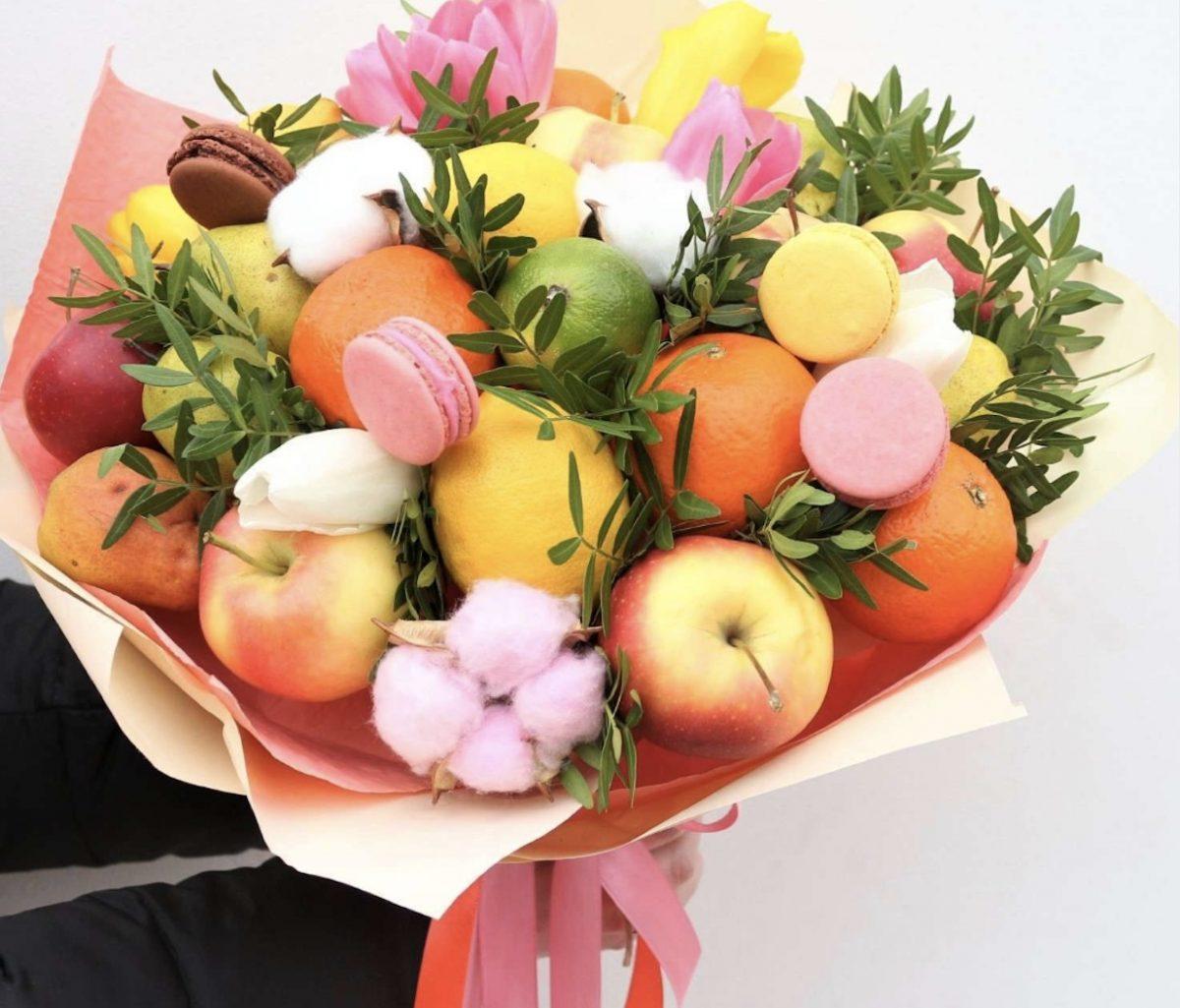 Цветов недорого, доставка фруктовых букетов домодедово