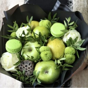 Яблочный букет «Green Piece» — Акции и скидки
