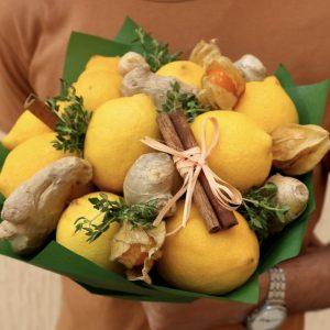 Букет из лимонов «Лимонадный Джо» — Акции и скидки